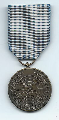 United Nations Korean Service Medal Belgium Issue