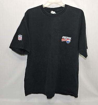 Pepsi Cola Wild Cherry Tee Shirt Black Size XL SS 100% Cotton Gildan Activewear