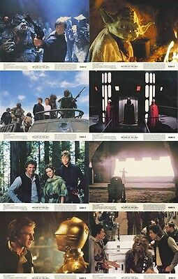 STAR WARS: RETURN OF THE JEDI Lobby Cards (Series 2) Complete Set of 8