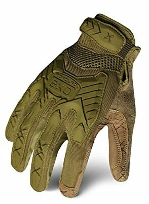NEW Ironclad EXOT-IODG-03-M Tactical Operator Impact Glove, OD Green, Medium