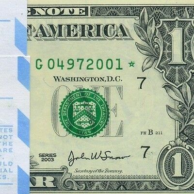 2003 $1 FRN ** Star Pack ** 100 Consecutive (( Chicago )) G04972001*