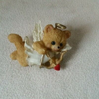 Valentine's Day Angel Bear Cupid Pin