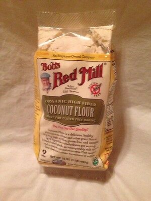 Bobs Red Mill Organic Coconut Flour 16 Oz 'Free Shipping'