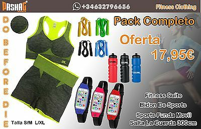 4 Pieces Gym Workout Fitness Yoga Clothes Leggings, Running Wear Trouser