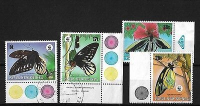 Papua New Guinea 1988 Endangered Species, Fine Used