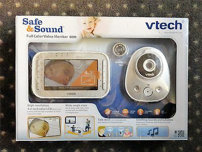 New! Vtech Safe And Sound – Vm342 Expandable Digital Video Baby Monitor Camera