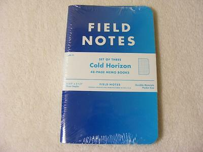 Field Notes Cold Horizon Sealed 3 pack set
