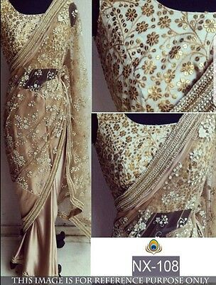 Latest Indian Designer Pakistani Bridal Saree Sari
