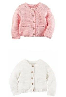 NWT Carter's Baby Girls' Cardigan Sweater Perfect for Spring