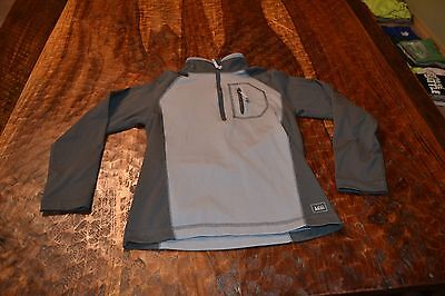 Rei ~ Boys Youth Small 8 ~ 1/4 Zip Pullover Sweatshirt Base Layer Long Sleeve