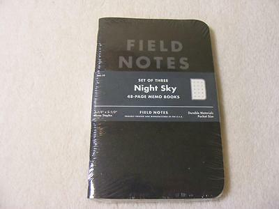 Field Notes Night Sky Sealed 3 Pack Set