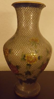 Asian multicolor antique vase. Beautifully handcrafted