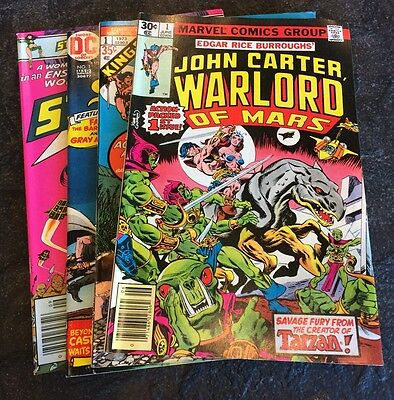 Marvel, Dc First Issue Comic Book Lot 1970'S Gradable #1