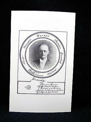 1917 Card Universal Formula Howison E Hoover FREDERICK MD w His Photo