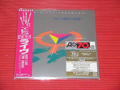 YES 9012 Live The Solos  JAPAN MINI LP UHQ CD