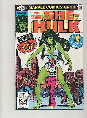 The Savage She-Hulk #1 Nm- To Nm  Marvel Comics First Appearance