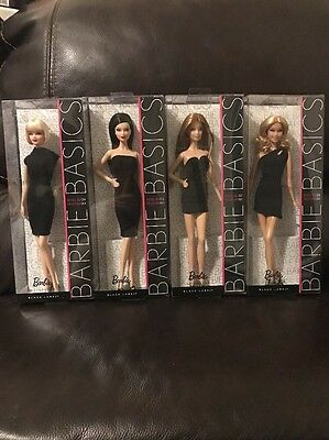 barbie basics collection 001 Models: 5,6,7&9 Beautiful
