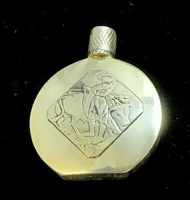 Beautiful Vintage Sterling Silver Perfume Bottle