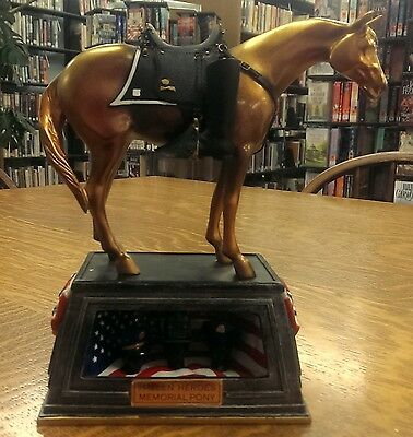 NEW NRFB Trail of Painted Ponies Fallen Heroes Memorial Pony 1E/3,097