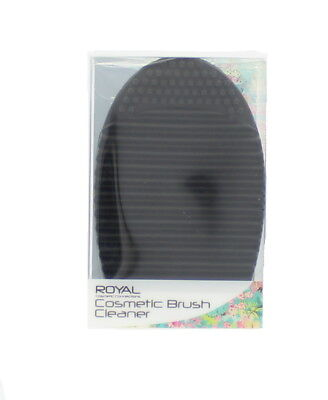 Royal Cosmetic Oval Black Brush Make Up Cleaner Scrubber Board