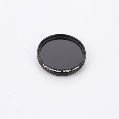 52mm Neutral Density ND Filter Adjustable Wide Band Variable Fader ND2 to ND400