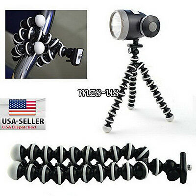 Mini Flexible Tripod Stand Holder Bubble Octopus Gorilla For SLR DV Sony Nikon