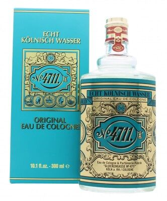 Maurer & Wirtz 4711 Eau De Cologne 300Ml Splash. New. Free Shipping