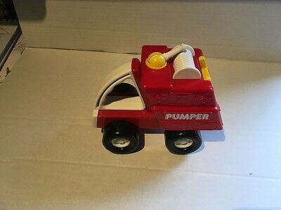 Buddy L Vintage Fire Pumper Toy, Beautiful Condition.