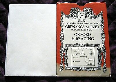 Ordnance Survey  Reprint 1st Edition Oxford & Reading Sheet 70