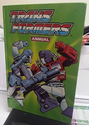 Transformers Annual 1989 vintage ,  unclipped.Marvel.