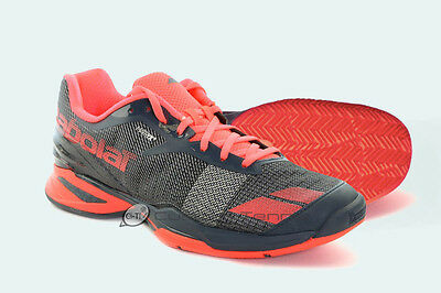 Babolat Jet - Clay Court (Men's) Black/Red Tennis Shoes