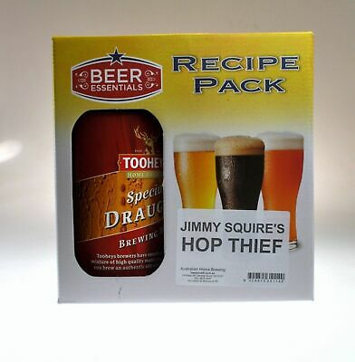 Clone BEER RECIPE KITS James Squire, Little Creatures, Fat Yak, Asahi home brew