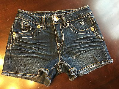 Justice girls shorts size 8 S stretch