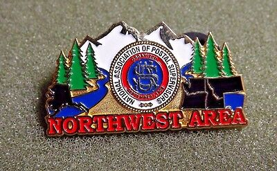 National Association Of Postal Supervisors Northwest Area Lapel Pin USPS