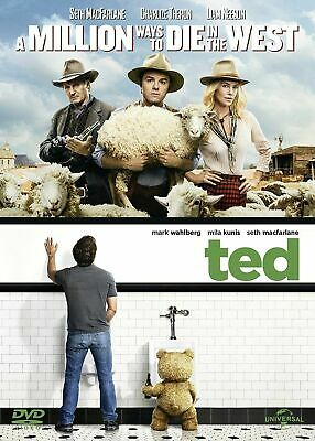 A Million Ways to Die in the West / Ted 2x[DVD] Seth MacFarlane Mark Wahlberg