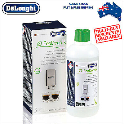 DeLonghi Descaler for Espresso Machines 500ml - Eco Decalk DLSC500 - 5513296051