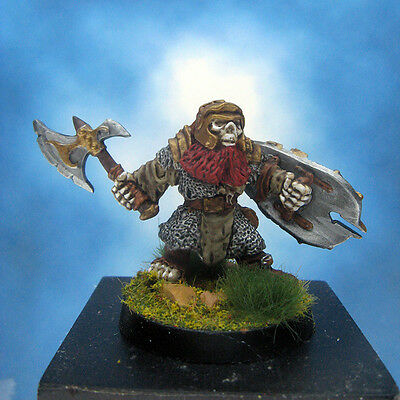 Painted Reaper Miniature Undead Dwarf Fighter