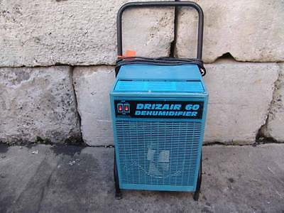 Drizair 60  Dehumidifier Carpet Cleaner Drier Works Fine