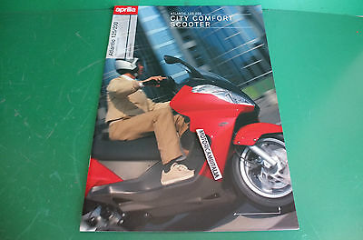 Aprilia Atlantic 125 200 Scooter Italia Catalogo Brochure Depliant Catologue