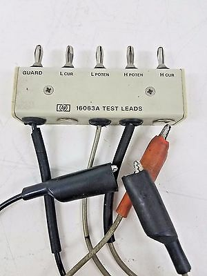 HP 16063A Test Lead with Alligator Clips