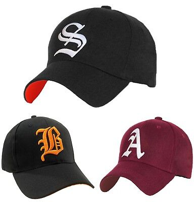 Men Women Casual Baseball Cap Sport Gothic Letter S Hip Hop Snap Back Hat LA