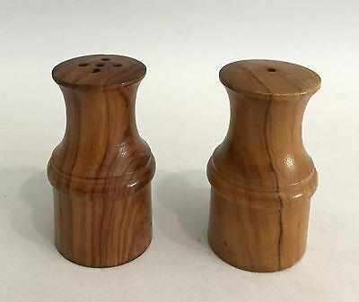 Danish Modern Design Salz- & Pfefferstreuer Teak Salt & Pepper 60s 70s 70er