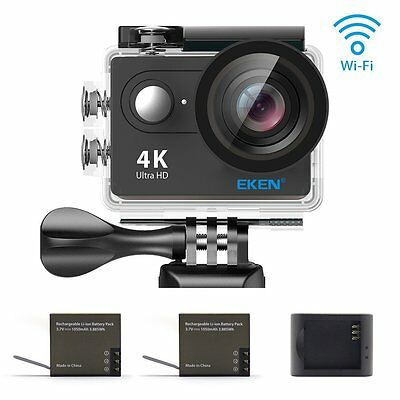 EKEN H8R, Ultra HD 4K Waterproof Action Camera Sports DV Camcorder with 2 batte