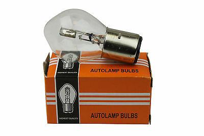 ATV Moped Scooter Head Light Bulb Motorcycle 12V 35W 10A B35 BA20D Glass