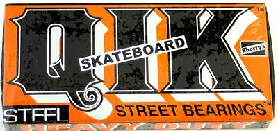 SHORTYS QiK Heavy Duty Street Bearings Kugellager Longboard Skateboard
