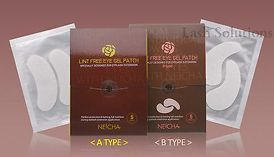 NEICHA Lint Free Eya Patch Pads for Eyelash Extensions A and B type