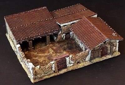 Surus 1:100 scenery - Cowshed - 15mm Spanish Civil War, WWII