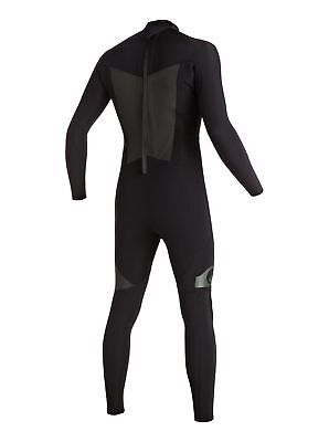 Quiksilver Syncro 4/3 GBS Back Zip Wetsuit Mens Unisex Surfing Watersports Surf