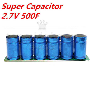 Farad Capacitor 2.7V 500F Super Capacitor With Protection Board for Car