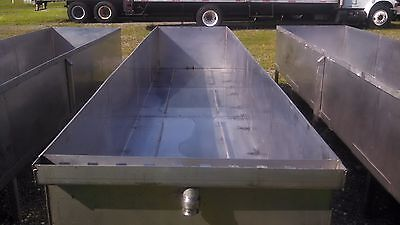 STAINLESS STEEL TUB 16FT (Item7108)